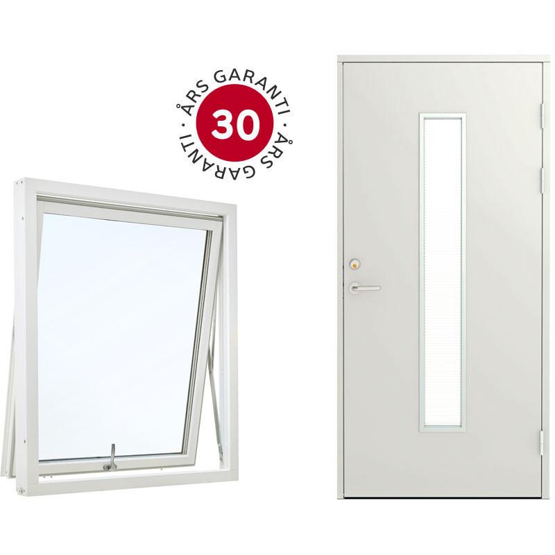 Svensktillverkade fönster  och dörrar av högsta kvalitet