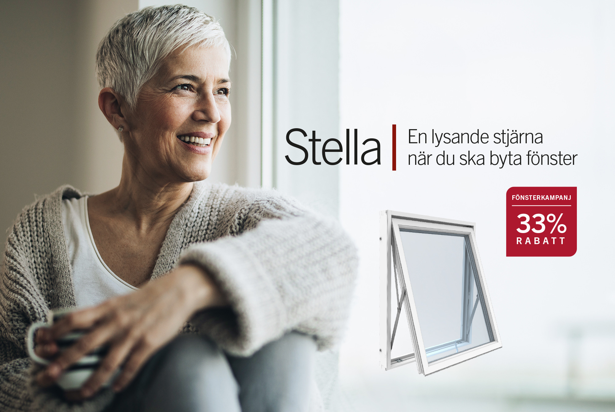 Nytt flexibelt kvalitetsfönster